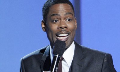 Host Chris Rock speaks on stage at the BET Awards at the Nokia Theatre on Sunday, June 29, 2014, in Los Angeles. (Photo by Chris Pizzello/Invision/AP)